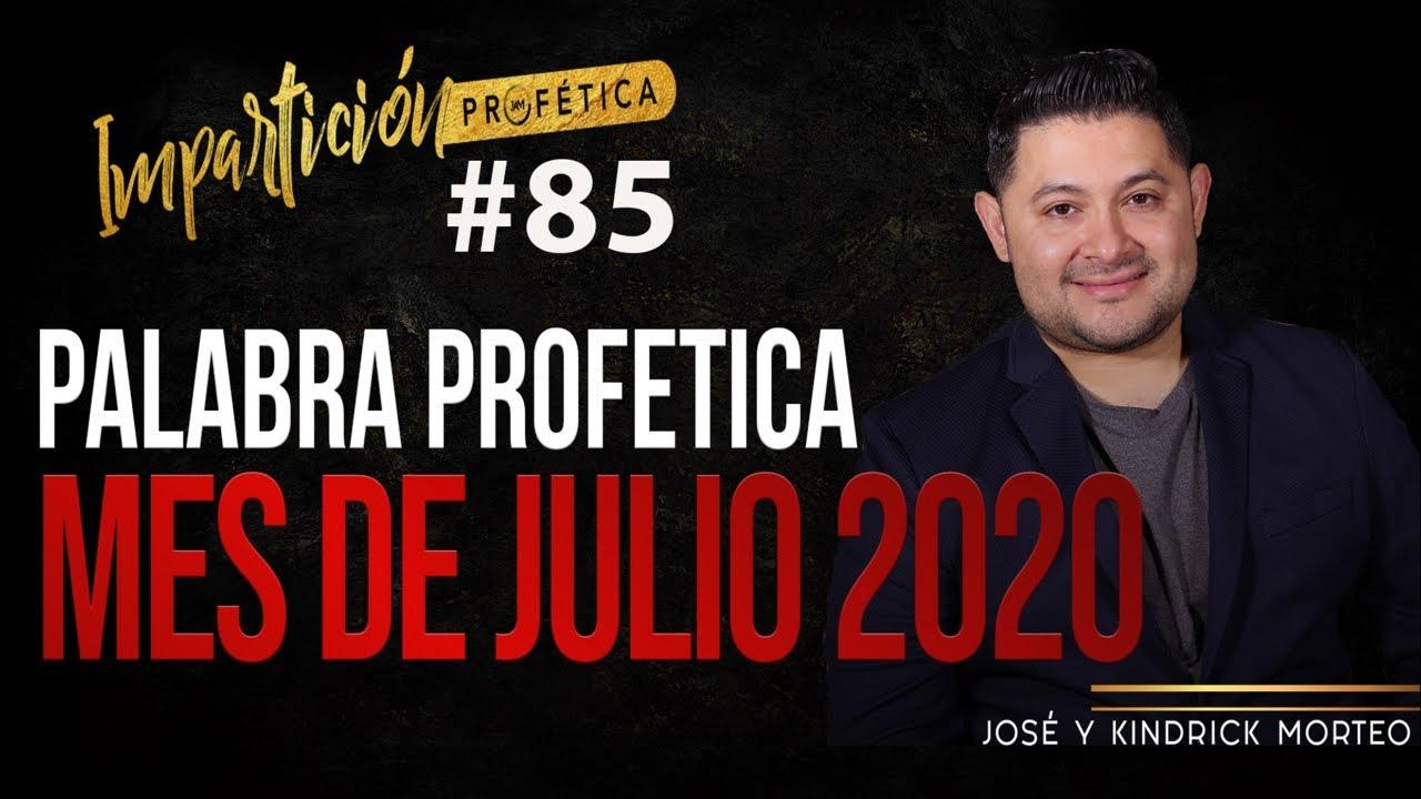 PALABRA PARA EL MES DE JULIO 2020 - Jose Amado Morteo #tendencia