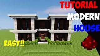 MINECRAFT : Tutorial Cara Membuat Rumah Modern (9)