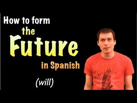 03 Spanish Lesson -  Future (part 1)