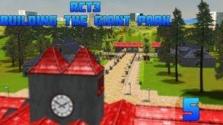 RCT3 - Building a GIANT Park - RCT3 - Building a GIANT park