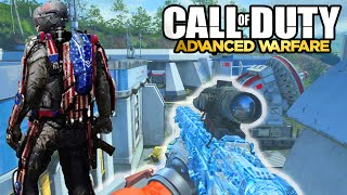 ADVANCED WARFARE - NEW MULTIPLAYER CAMOS SNIPER GAMEPLAY! Call of Duty Advanced Warfare DLC!