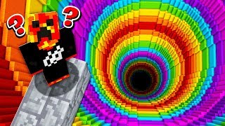 MINECRAFT REVERSE RAINBOW DROPPER CHALLENGE! (MCPE)