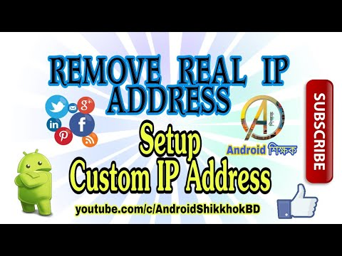 [Tutorial] How To Revome Real Ip Address & Setup Custom Ip Address On Your Android Phone