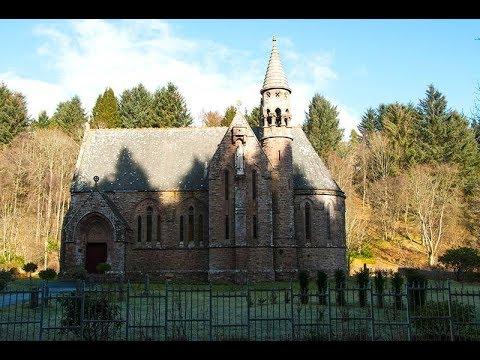 St Palladius Church, Drumtochty Glen, Aberdeenshire.