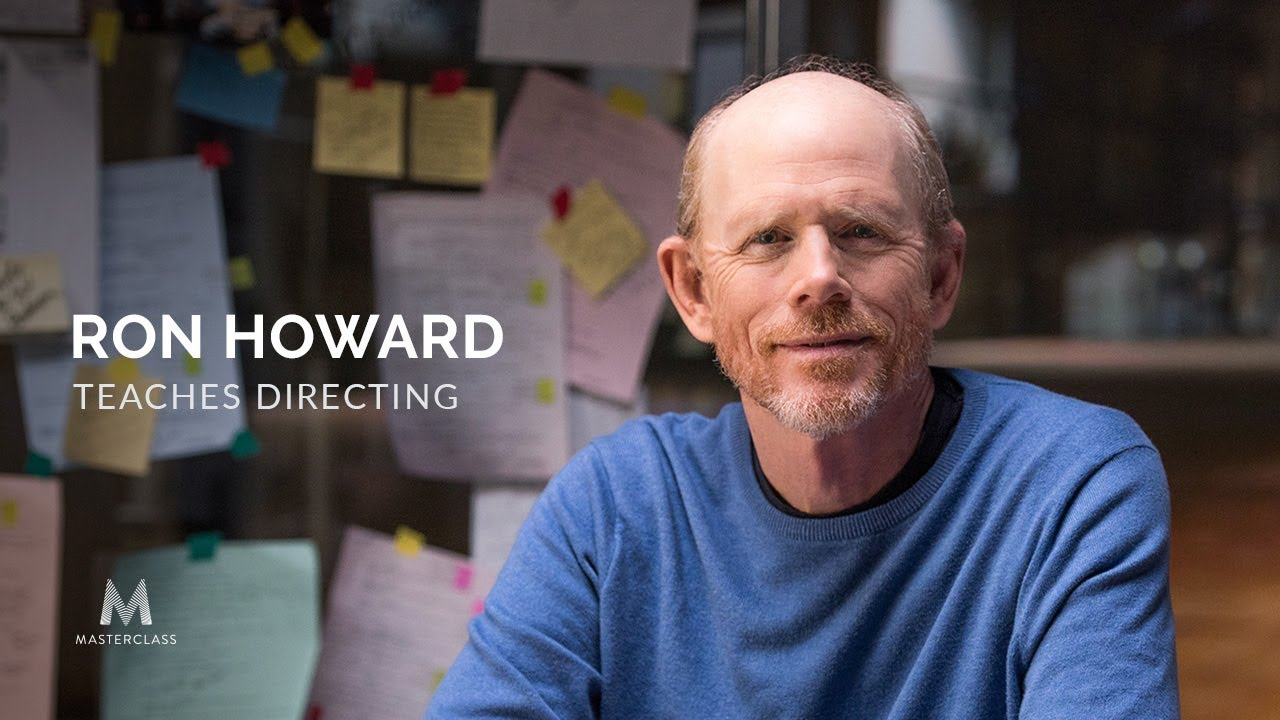 Image result for ron howard teaches directing