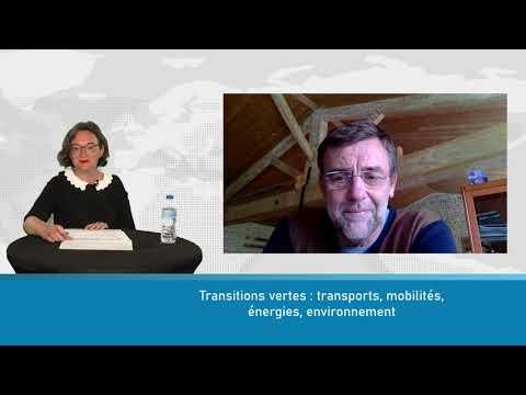 Transitions vertes : transports, mobilités, énergies, environnement