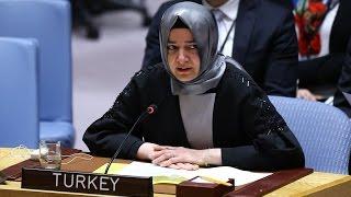 Aile ve Sosyal Politikalar Bakanı Fatma Betül Sayan Kaya BM'de konuşma yaptı