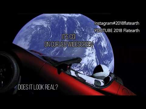 SPACE X Elon Musk's Tesla roaster DEBUNKED / FAKE SPACE / CGI / FLAT EARTH thumbnail