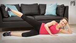 Fitness Workout gegen Reiterhosen