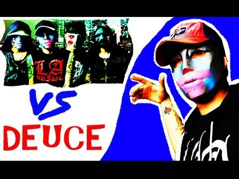 """Hollywood Undead vs DEUCE!! Story of a Snitch Interview"""