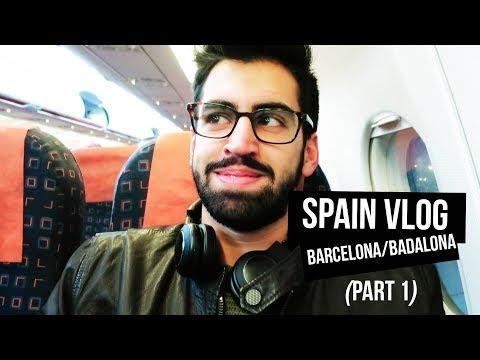 Spain: Vlog Part 1 (Barcelona, Badalona)