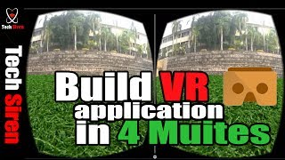 How to create Virtual Reality App in 4 MINUTES !!!