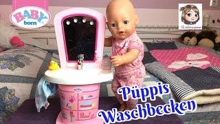 BABY BORN WASCHTISCH - Püppis Morgen-Routine am interaktiven Waschbecken | Zapf Creation