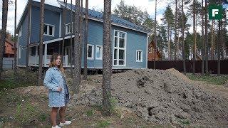 Дом из СИП-панелей по скандинавским мотивам