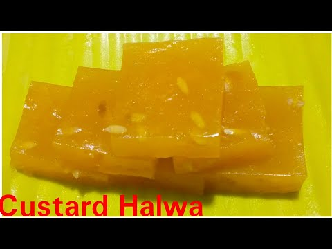 Custard Halwa recipe by Kitchen with Rehana