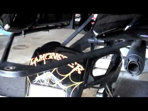 Can Am Spyder RS Rear Tire Removal