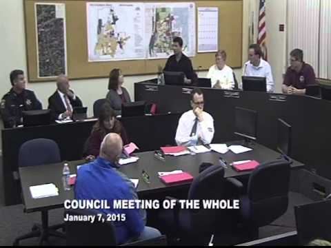 City of Lockport, IL Committee of the Whole 1/7/15