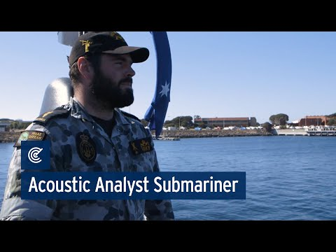 Navy - Acoustic Warfare Analyst Submariner - Bradley