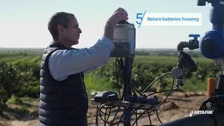 SandStorm™ filter - Replacing batteries | Netafim