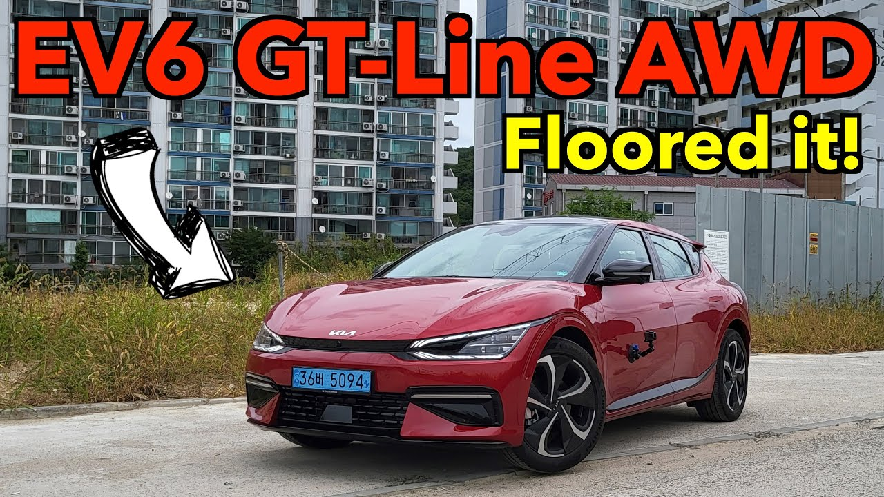 Download 2022 Kia EV6 GT-Line Test drive & review – So much power!