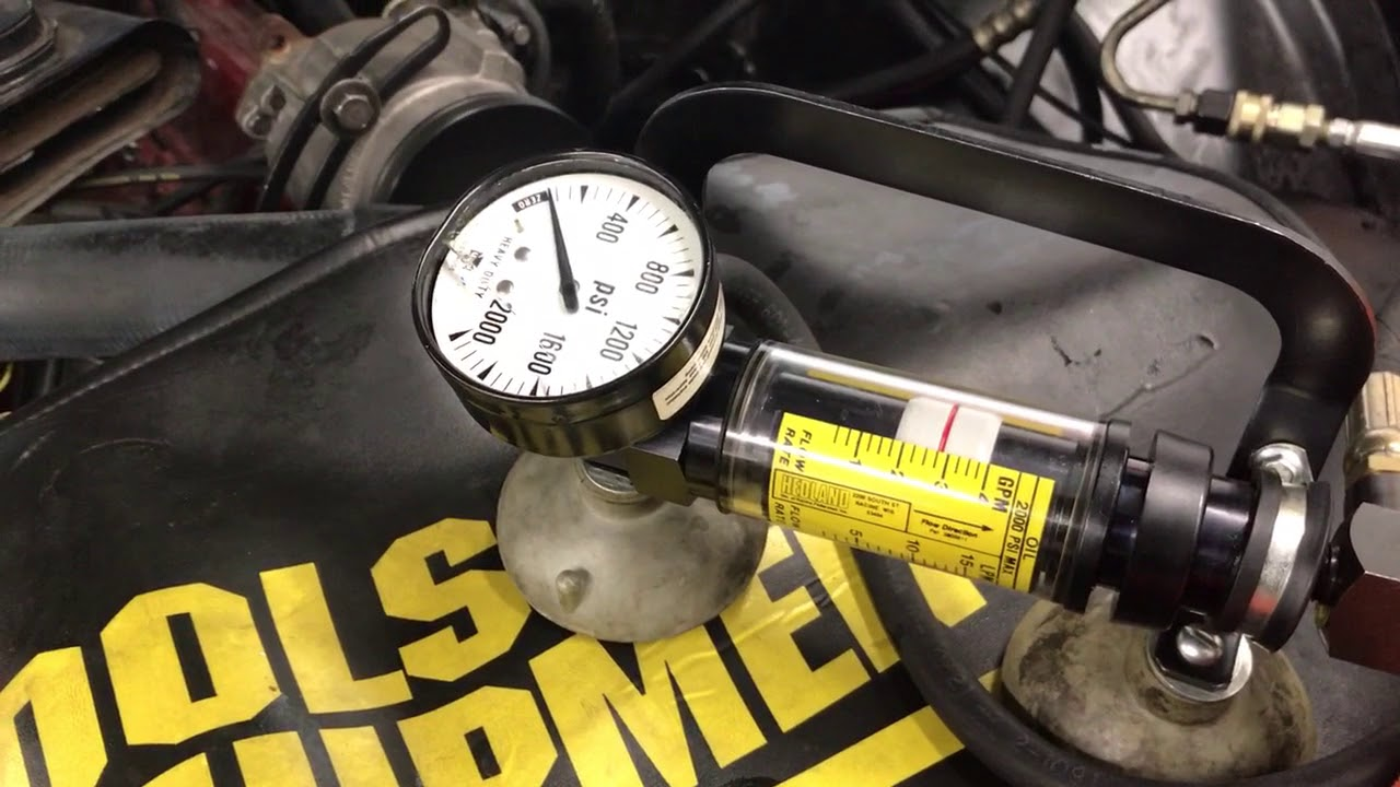 Power Steering System Test