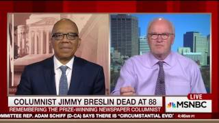 Jimmy Breslin's style of reporting (20 March 2017)