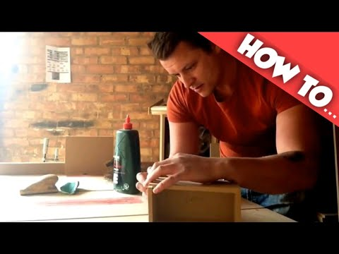 How to make Simple MDF boxes