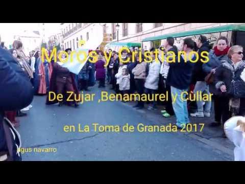 Moros y Cristianos del altiplano granadino en la Toma de Granada 2017
