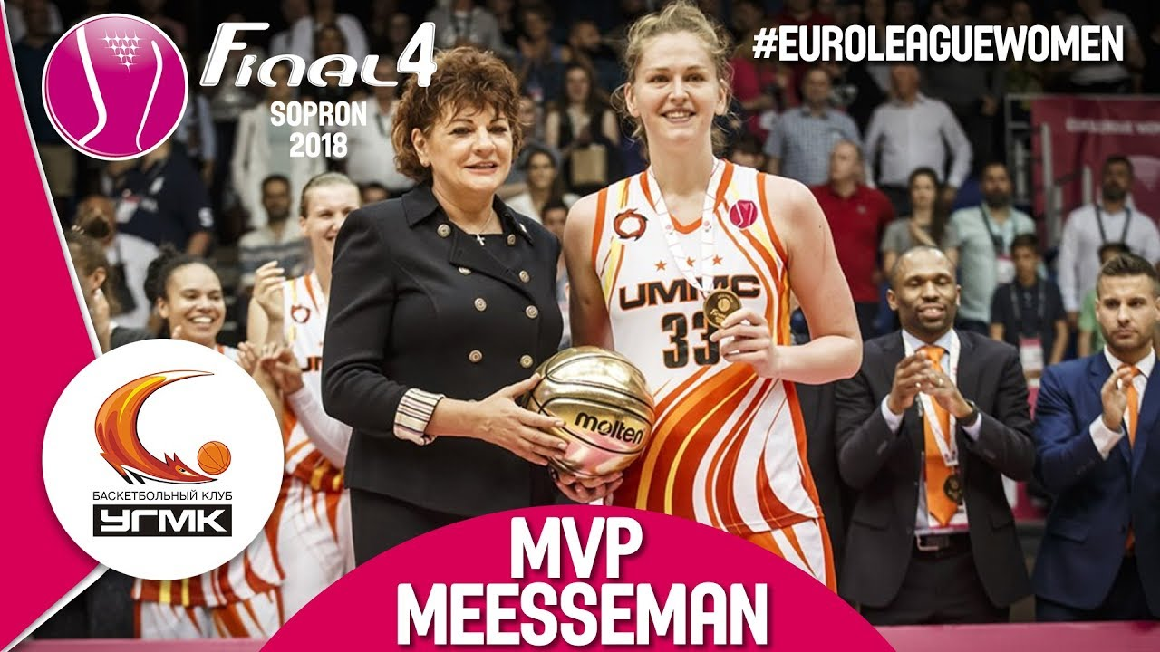 Emma Meesseman - MVP of the Final Four 2018