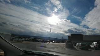 Walmart Parking Lot Time Lapse (1.29.17) (Montoursville, PA)