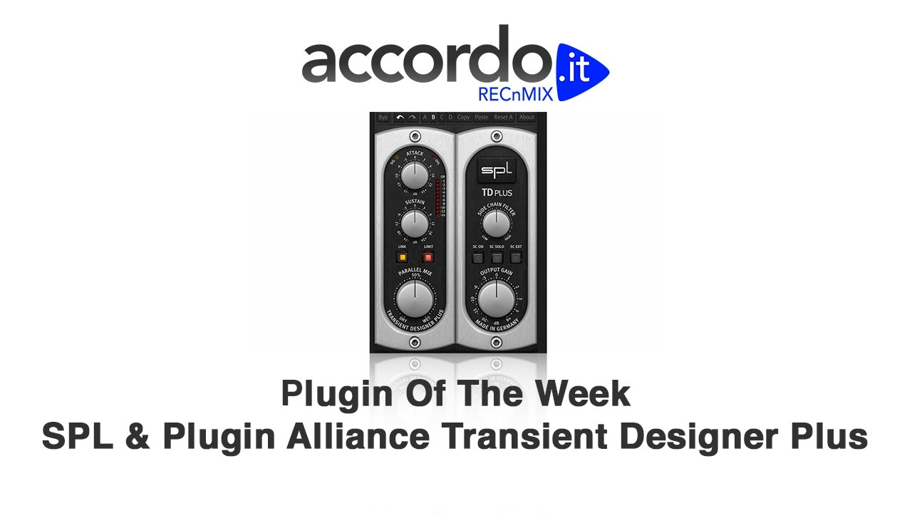 Plugin Of The Week - SPL & Plugin Alliance Transient Designer Plus