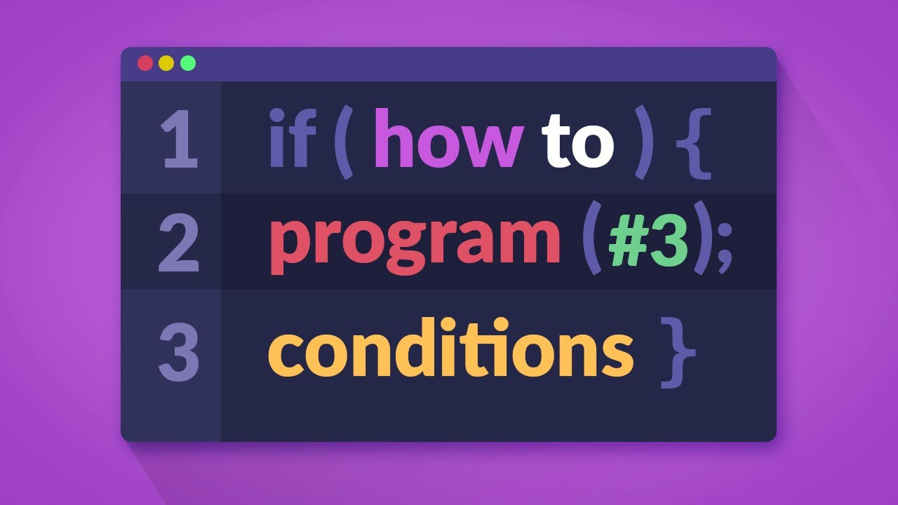 How to Program in C# - Conditions