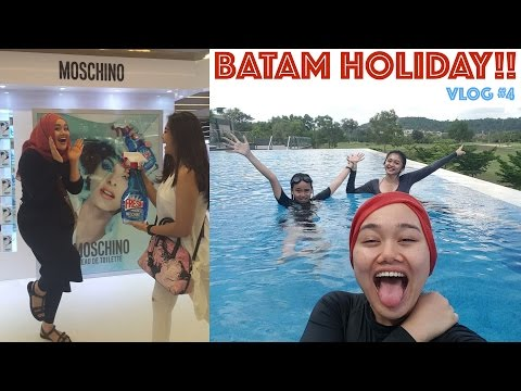 Batam Holiday | FATVLOG #4 | MakeupbyFatya