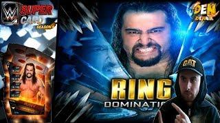 WWE SUPERCARD !RING DOMINATION RUSEV |BATTLEGROUND| На русском