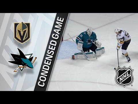 02/08/18 Condensed Game: Golden Knights @ Sharks