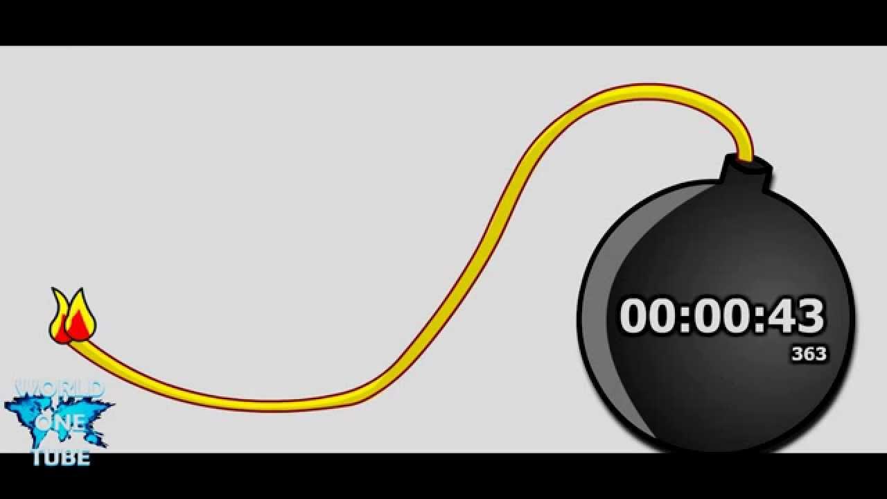 45 seconds countdown timer alarm clock youtube. Black Bedroom Furniture Sets. Home Design Ideas