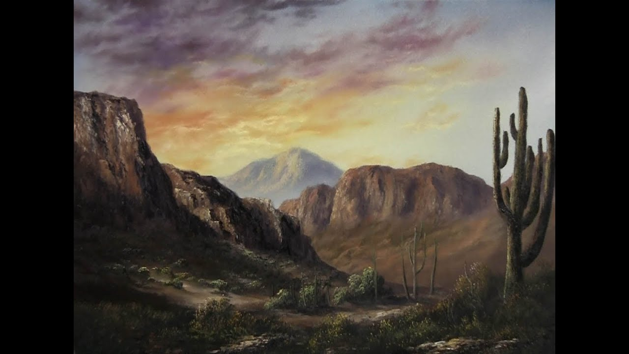 Learning To Oil Paint Landscape