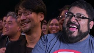 Repeat youtube video The Game Awards 2016 Hideo Kojima Industry Icon Award Reaction