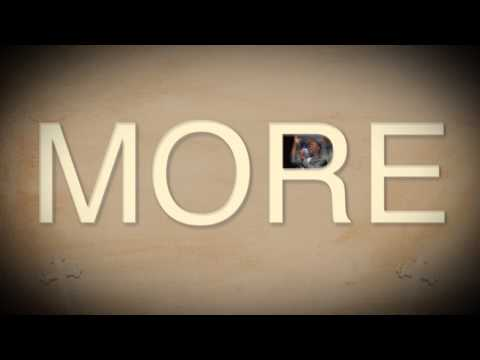 Earnest Pugh - More of You typography lyric video