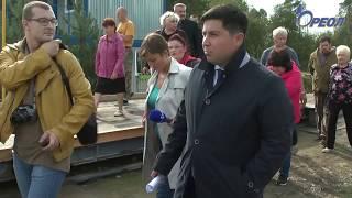Состоялся пресс-тур на Сланцевский полигон твёрдых коммунальных отходов