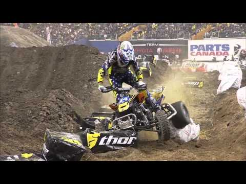 Supermotocross Monster Energy de Montreal 2010- VTT