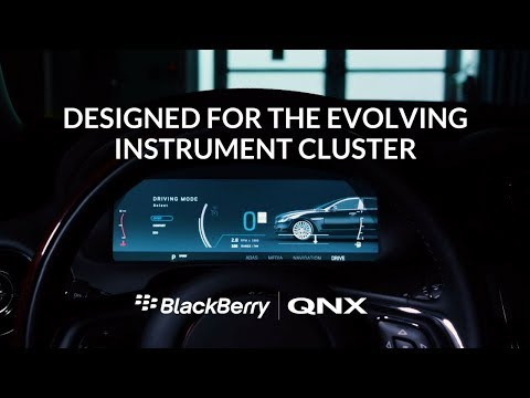 BlackBerry QNX Digital Instrument Cluster