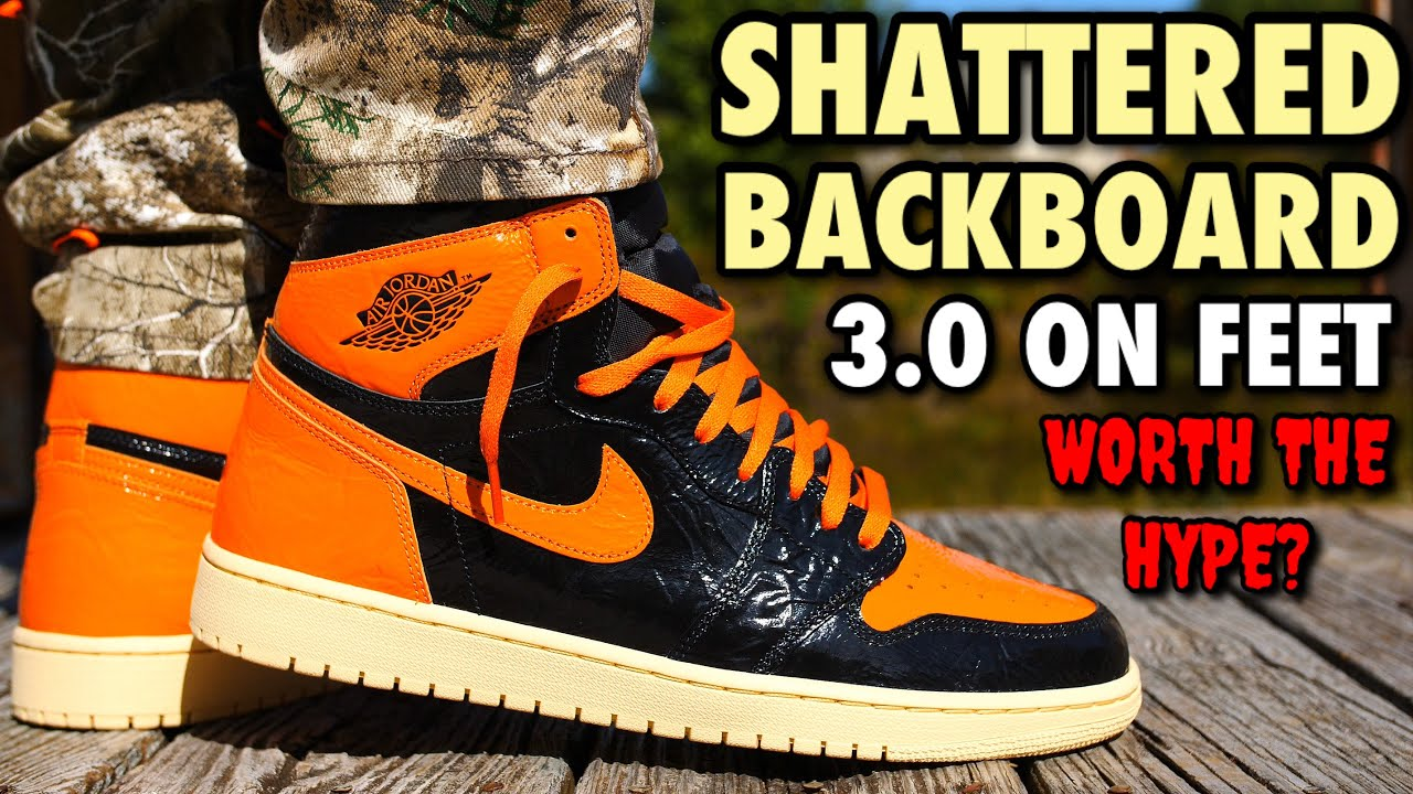 Download WORTH THE HYPE!? SHATTERED BACKBOARD 3.0 JORDAN 1 REVIEW & ON-FEET! WORST RELEASE OF 2019?