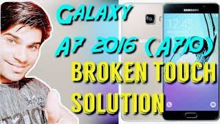 A7 2016 Glass only replacement full process(SAMSUNG GALAXY A-710)