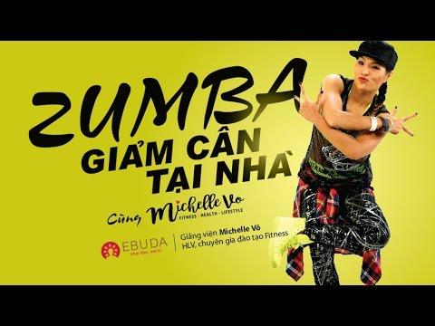 Nhảy Zumba giảm cân tại nhà cùng Michelle Võ | Bài tập Zumba 60 phút giảm cân đốt mỡ siêu hiệu quả