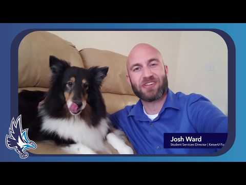 Share your furry family members with us - Josh Ward, Student Services Director, KU Ft Myers