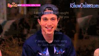 Lee Dong Wook and Park Bom ( Bodong ) - I miss you