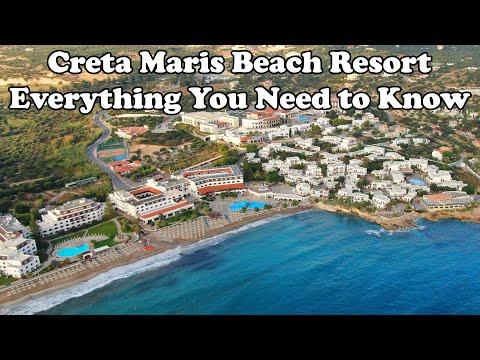 Creta Maris Beach Resort Everything Incl. Drone, Rooms, Beach, Dinner, ...