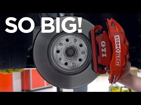 2018 VW GTI (MK7.5) - We Installed MASSIVE Brakes