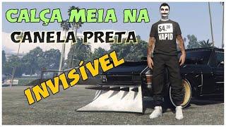 ✅ GTA V COMO PEGAR CALÇA MEIA NA CANELA PRETA✅  FÁCIL !!! ✅🎮 PS4